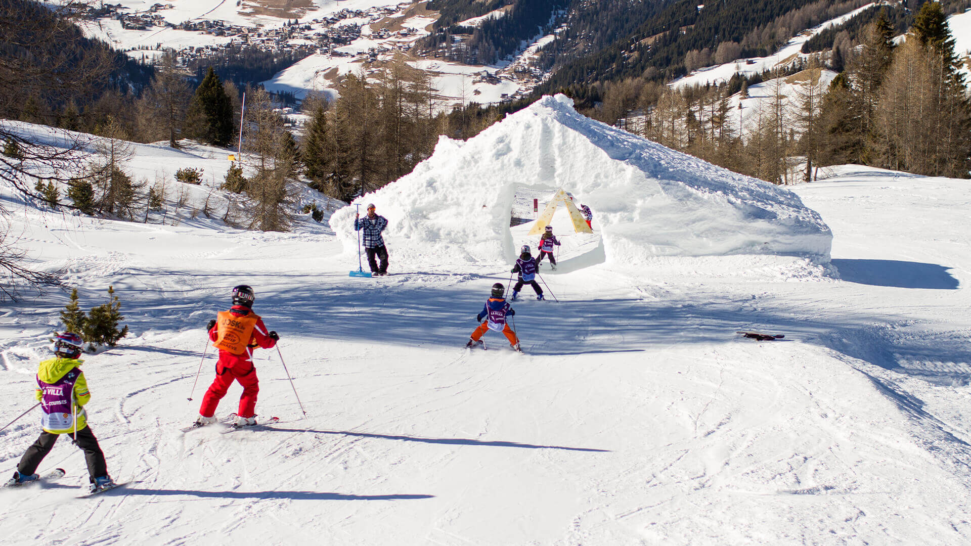 Kidsslope Pralongia Moviment Alta Badia